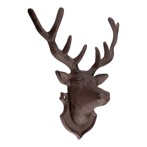 Fallen Fruits Cast Iron Deer Wall Decoration