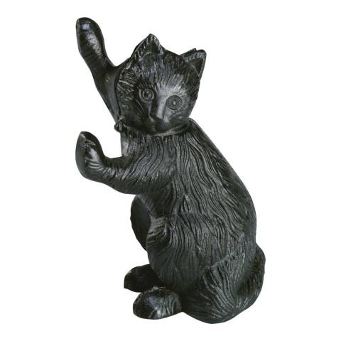 Fallen Fruits Cast Iron Cat Doorstop