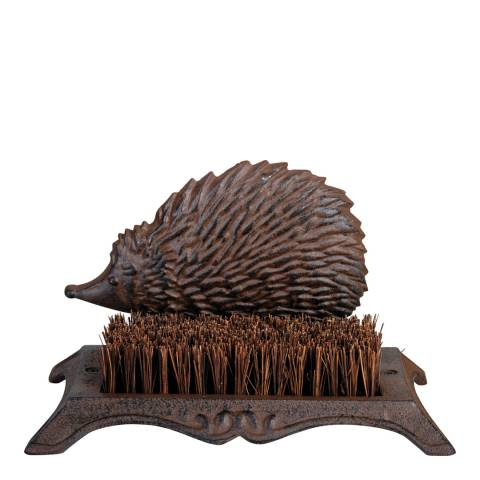 Fallen Fruits Cast Iron Hedgehog Boot Brush