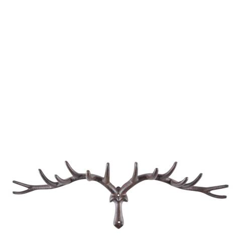 Fallen Fruits Large Cast Iron Antler Hook