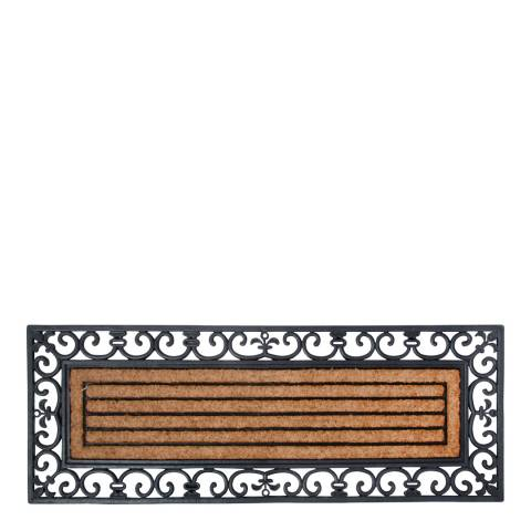 Fallen Fruits Large Rubber & Coir Doormat