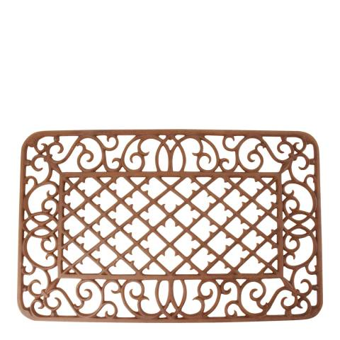 Fallen Fruits Cast Iron Rectangular Doormat