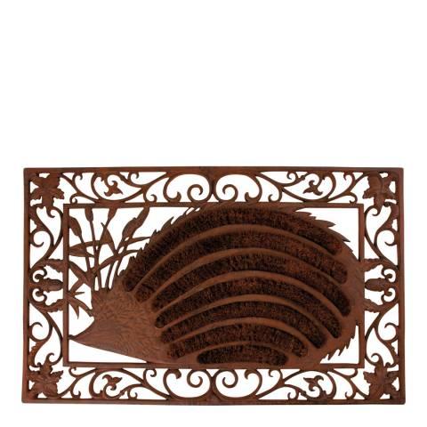 Fallen Fruits Cast Iron Hedgehog Doormat