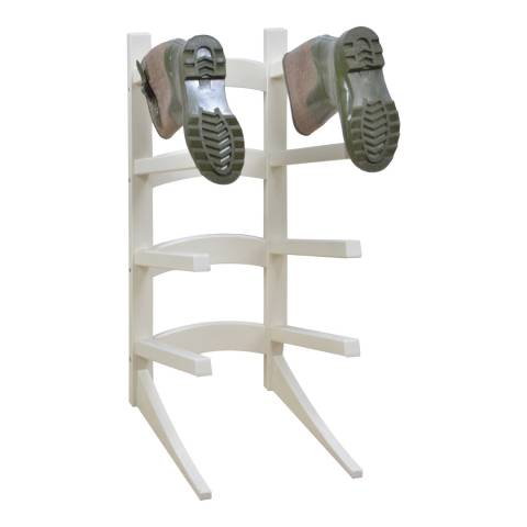 Fallen Fruits Cream Wooden Standing Boot Rack