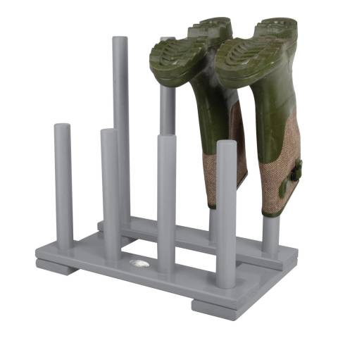 Fallen Fruits Grey Wooden Boot Rack