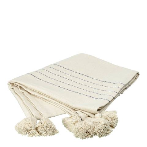 Parlane Cream Newlyn Cotton Throw