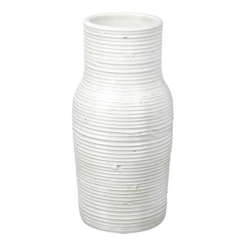 Parlane White Rhodes Vase