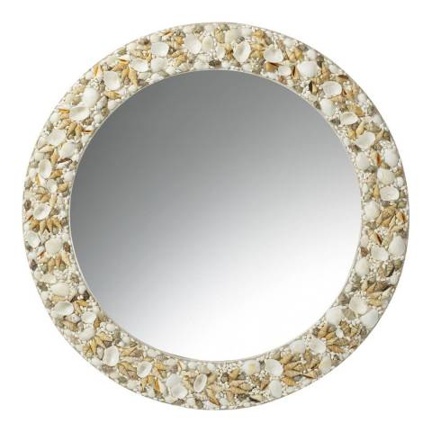 Parlane White Sheldon 80cm Mirror