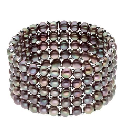 Mitzuko Black Tahiti Freshwater Pearl Bracelet