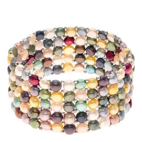 Mitzuko Multi Coloured Freshwater Pearl Bracelet