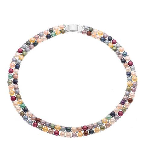 Mitzuko Multi Coloured Freshwater Pearl Necklace