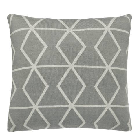 Scion Axis Cushion 45 x 45cm, Stone