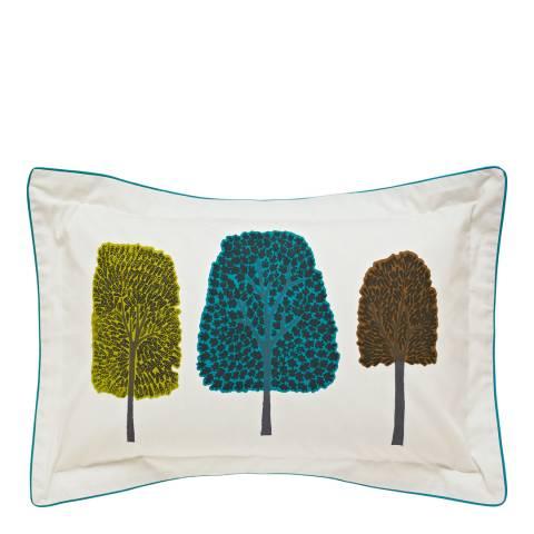 Scion Cedar Oxford Pillowcase, Kingfisher