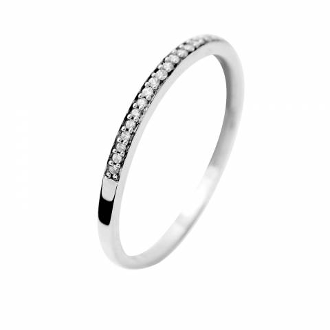 Diamond Design White Gold Prestige Diamond Ring 0.05 Cts