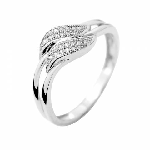 Dyamant White Gold Prestige Diamond Ring 0.02 Cts