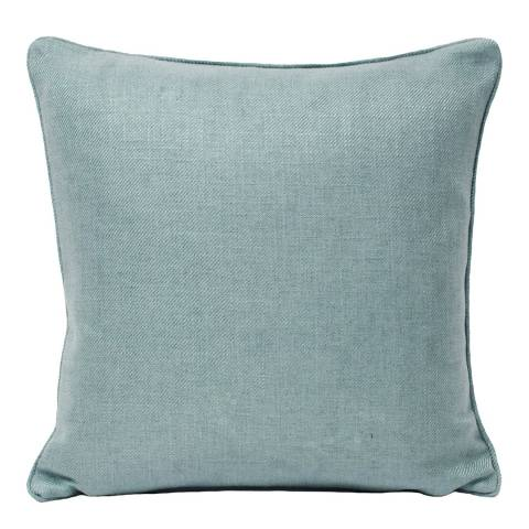 RIVA home Duck Egg Atlantic Feather Cushion, 55 x 55cm