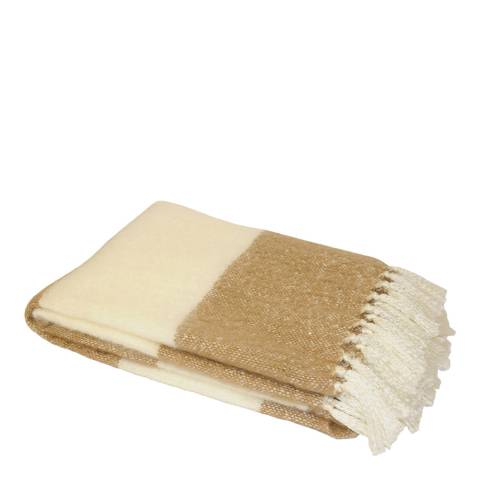 Paoletti Fudge Cotswold Throw 127x180cm