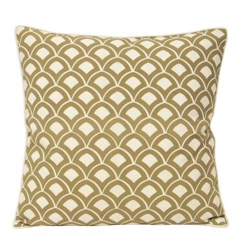 Paoletti Driftwood Ionia Scallop Cushion 50x50cm