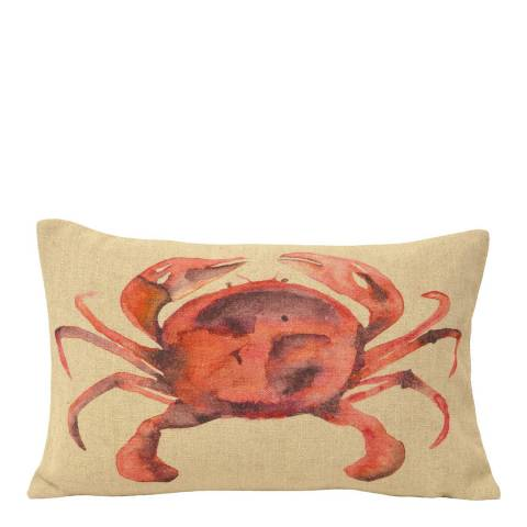 Paoletti Orange King Crab Cushion 35x50cm