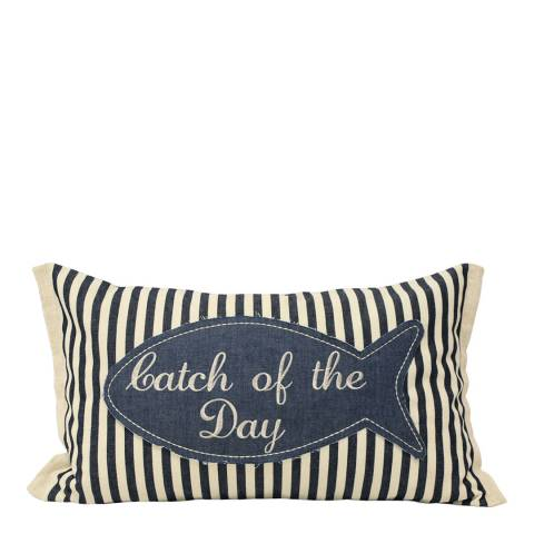 Paoletti Seascape Catch of Day Cushion 30x50cm