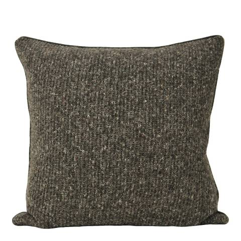 Paoletti Charcoal Soho Cushion 50x50cm