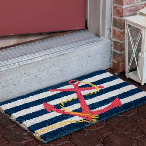 Entryways Anchor Doormat 40x60cm
