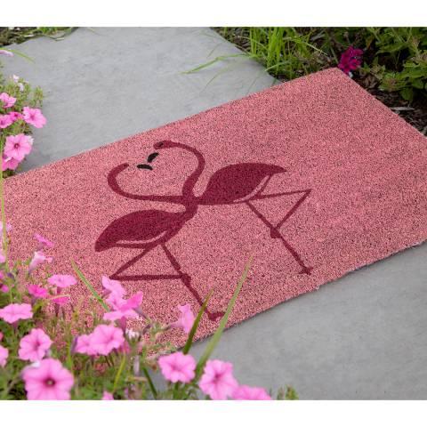 Entryways Pink Flamingos Non-Slip Doormat 40x60cm