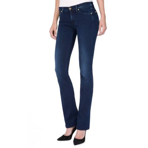 7 For All Mankind Indigo Skinny Stretch Bootcut Jeans