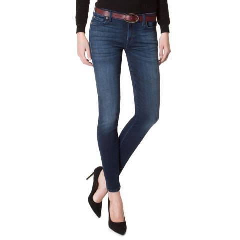 7 For All Mankind Boho Indigo The Skinny Stretch Jeans