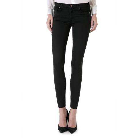 7 For All Mankind Black The Skinny Stretch Jeans