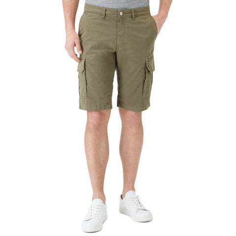 7 For All Mankind Sage Green Cargo Short