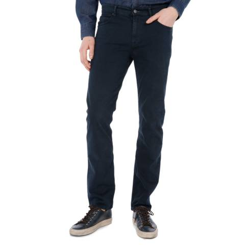 7 For All Mankind Navy Slimmy Stretch Jeans