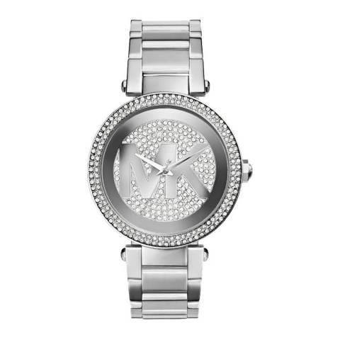 Michael Kors Women's Silver Parker Watch