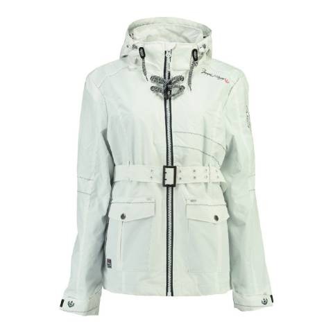 Geographical Norway White Arcentiel Coat