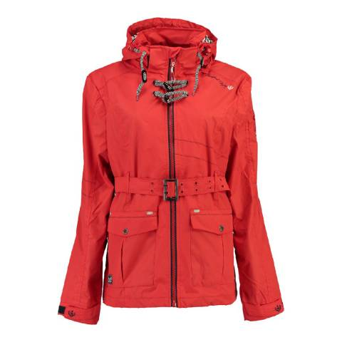 Geographical Norway Women's Red Arcentiel Coat