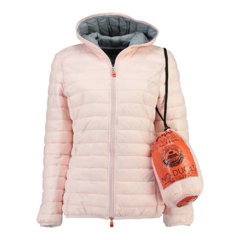 Geographical Norway Women's Pink Daysy Padded Jacket
