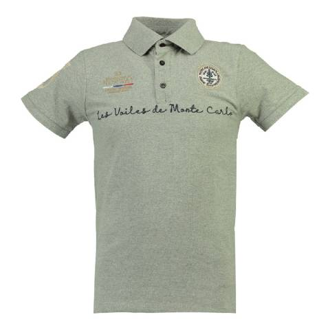 Geographical Norway Men's Grey Kolostar Polo