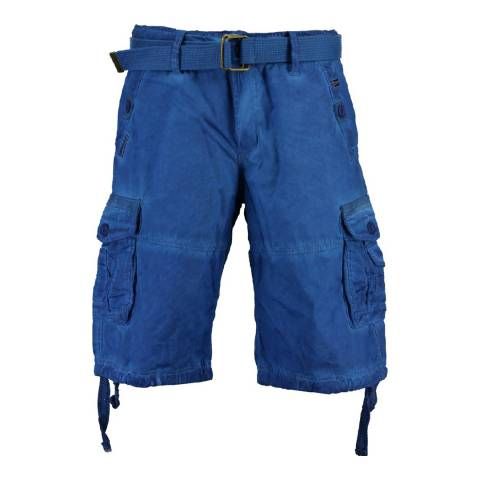 Geographical Norway Men's Royal Blue Pablo Bermuda Shorts