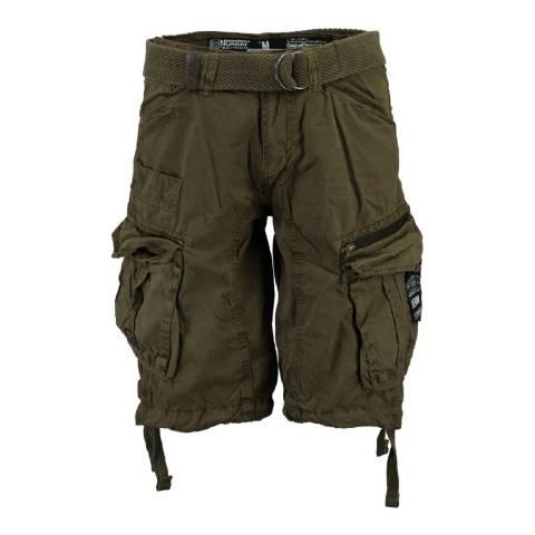 Geographical Norway Men's Storm Khaki Palium Bermuda Shorts
