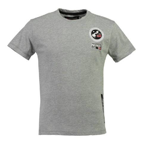 Geographical Norway Men's Grey Jamey T-Shirt