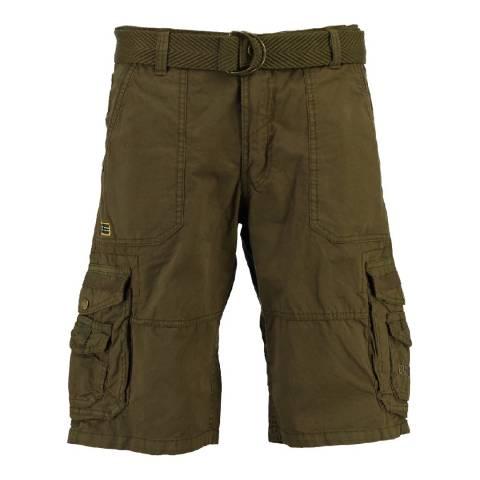 Geographical Norway Men's Khaki Perou Shorts