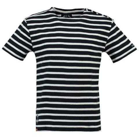 Geographical Norway Men's Navy/White Jucio T-Shirt