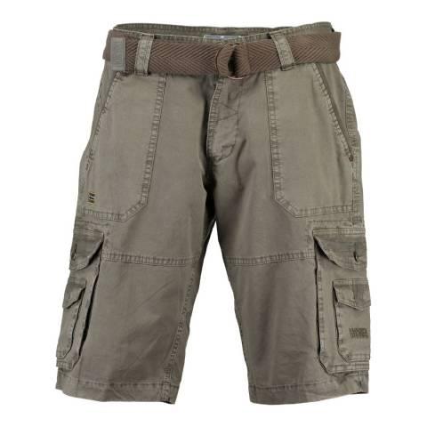 Geographical Norway Men's Khaki Plavo Bermuda Shorts