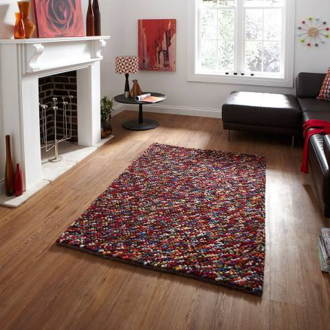 Think Rugs Multi Pebbles 150x230cm Rug