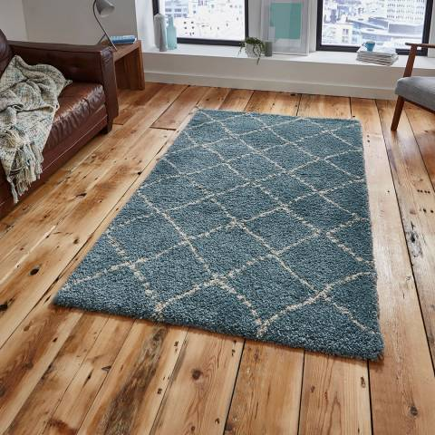Think Rugs Teal/Cream Royal Nomadic 160x230cm Rug