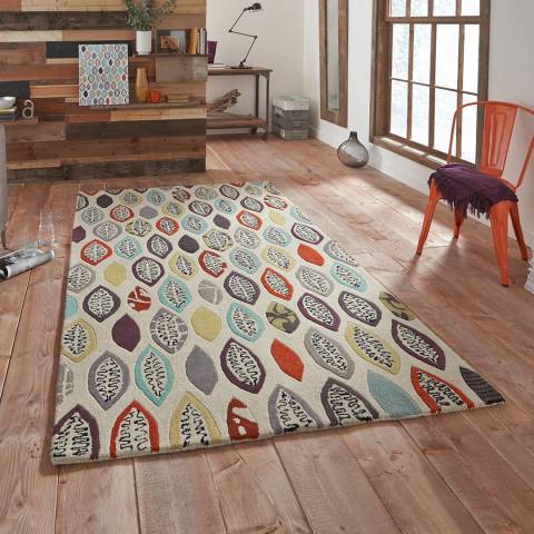 Think Rugs Multi Fiona Howard Windfall 150x230cm Rug