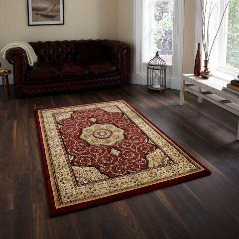 Think Rugs Red Heritage 160x230cm Rug