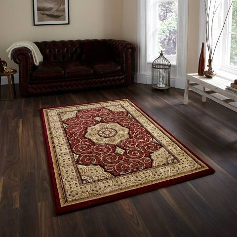 Think Rugs Red Heritage 4400 200x290cm Rug