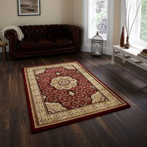 Think Rugs Red Heritage 280x380cm Rug