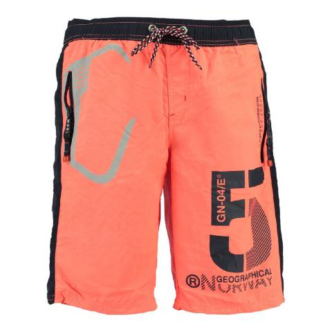 Geographical Norway Boy's Coral Qraviara Swim Shorts